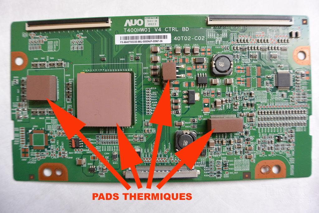 réparation platine t-con, Wiring schematic